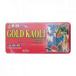 Tpbvsk nhân sâm Gold Kaoli Gingseng 830mg, Hộp 120 viên