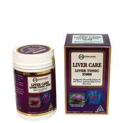 Viên uống Golden Health Liver Care Liver Tonic 35000mg