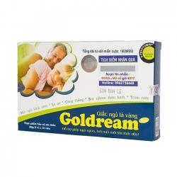 Goldream - Hỗ Trợ Điều Trị Bệnh Mất Ngủ | Hộp 2 vỉ x 10 viên