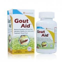 Hỗ trợ ngừa bênh Gút Gout Aid Vitamins For Life, Hộp 30 viên