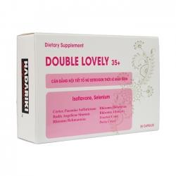 Hadariki Double Lovely 35+ giúp cân bằng nội tiết nữ