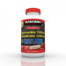 Hadariki Glucosamine 1500mg Chondroitin 1200mg tăng cường sức khỏe xương khớp