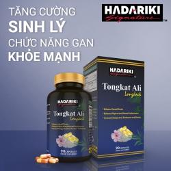 Tpbvsk sinh lý nam Hadariki Tongkat Ali 500mg