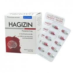 Thuốc DHG Hagizin 5mg, Hộp 100 viên
