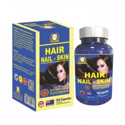 Hair Nail Skin Healthy Golden 100 viên - Viên uống da móng tóc