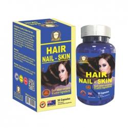 Hair Nail Skin Healthy Golden 30 viên - Viên uống da móng tóc