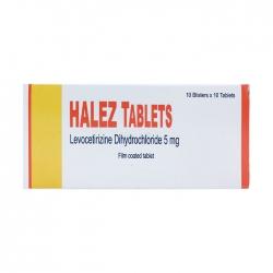 Halez Tablets 5mg Akums 10 vỉ x 10 viên