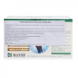 Tpbvsk Xương khớp Hanmi Glucosamine 100, Chai 90 viên