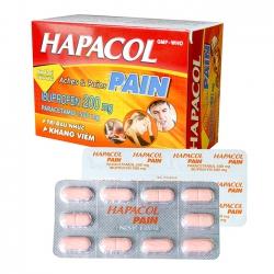 Hapacol Pain DHG, Hộp 100 viên