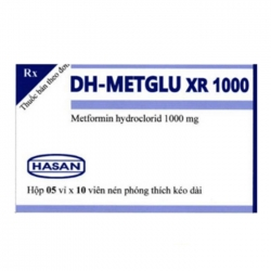 Hasan DH-Metglu XR 1000mg, Hộp 50 viên