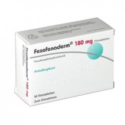 Hasan Fexofenaderm 180 mg 100 viên