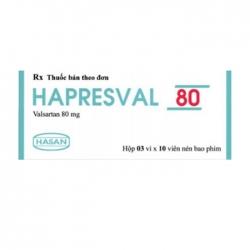 Hasan Hapresval 80mg 50 viên