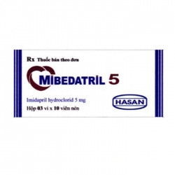 Hasan Mibedatril 5mg, Hộp 50 viên