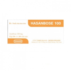 Hasanbose 50mg, Hộp 30 viên