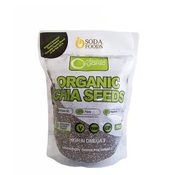 Hạt chia Organic Chia Seeds tăng cường năng lượng