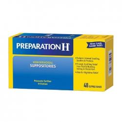 Hemorrhoidal Suppositories Preparation H 48 viên - Viên đặt trĩ