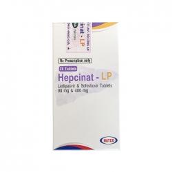 Thuốc Natco Hepcinat LP 90mg/400mg, Hộp 28 viên ( VN3-101-18 )