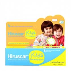 Gel chăm sóc sẹo và sẹo thâm dành cho trẻ em Hiruscar Kids 10g