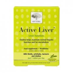 Hỗ trợ điều trị bệnh gan New Nordic Active Liver Hộp 15 viên