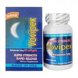 Hỗ trợ ngủ ngon Earth's Creation Vovipex Hộp 60 viên