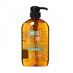 Sữa tắm số #1 Nhật Bản Horse Oil Moisture Body Soap, Chai 600ml