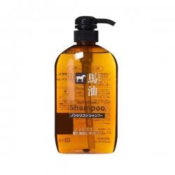 Dầu gội số #1 Nhật Bản Horse Oil Non Silicon Shampoo, Chai 600ml