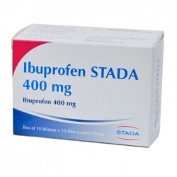 Ibuprofen Stada 400 mg 10 vỉ x 10 viên