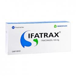 Ifatrax 100 Agimexpharm 1 vỉ x 4 viên