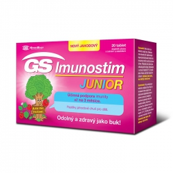 Tpbvsk tăng cường miễn dịch GS Imunostim Junior, Hộp 20 viên