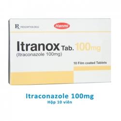 ITRANOX TAB Itraconazole 100mg giúp điều trị các bệnh nhiễm nấm
