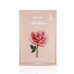 Mặt nạ tinh chất hoa hồng JM Solution Glow Luminous Flower Firming Mask Rose (Hộp 10 miếng 30ml)