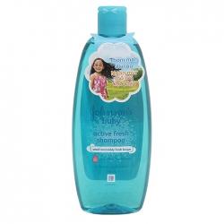 Dầu gội thơm mát năng động Johnsons Baby Active Fresh Shampoo 500ml