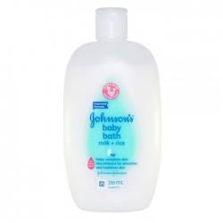 Sữa tắm cho bé chứa sữa và gạo Johnson's Baby Bath 200ml