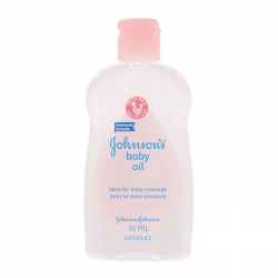 Dầu massage cho bé Johnson's Baby Oil 50ml