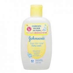 Sữa tắm gội toàn thân Johnson Baby Top-To-Toe Wash 100ml