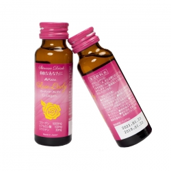 Collagen Kaza Rose Laydy nước uống đẹp da chống lão hóa, Hộp 10 chai 50ml