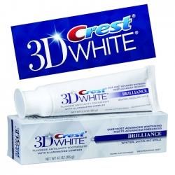 Kem Đánh Răng Crest 3D White Fluoride Anticavity Toothpaste 116g ( Màu trắng )