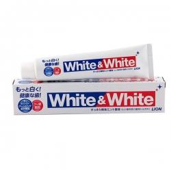 Kem đánh răng White and White Lion của Nhật 150g