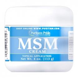 Kem Msm Cream Puritan's Pride 113g