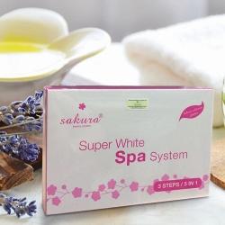 Kem Tắm Trắng Cao Cấp Tiêu Chuẩn Spa Sakura Super White Spa System