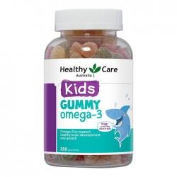 Kẹo bổ sung dầu cá Healthy Care Kids Gummy 3 250 Viên