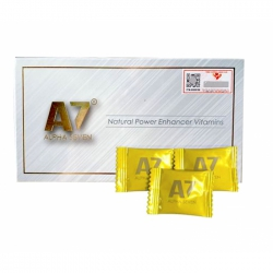 Kẹo cường dương Alpha Seven A7, Hộp 10 viên