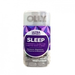 Kẹo dẻo hỗ trợ ngủ ngon Olly Ultra Sleep 60 viên