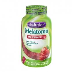 Kẹo dẻo hổ trợ ngủ ngon Vitafusion Melatonin 10mg, Chai 100 viên