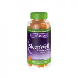 Kẹo dẻo ngủ ngon Vitafusion Sleepwell Melatonin 3mg 250 viên