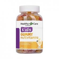 Kẹo dẻo vitamin cho bé Healthy Care Kids Gummy Multivitamins, Chai 250 Viên