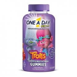 Kẹo dẻo Vitamin cho trẻ em One A Day Kids Trolls Complete Multivitamin Gummies 180 viên