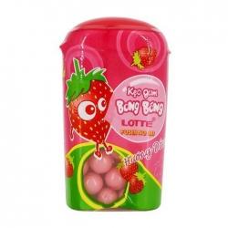 Kẹo gum Lotte Fusen Nomi hương dâu 15g