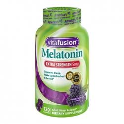 Kẹo hỗ trợ giấc ngủ Vitafusion Melatonin 5mg, Chai 120 viên