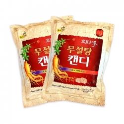 Kẹo sâm Sugar Free Red Gingsseng Candy 500g Hàn Quốc